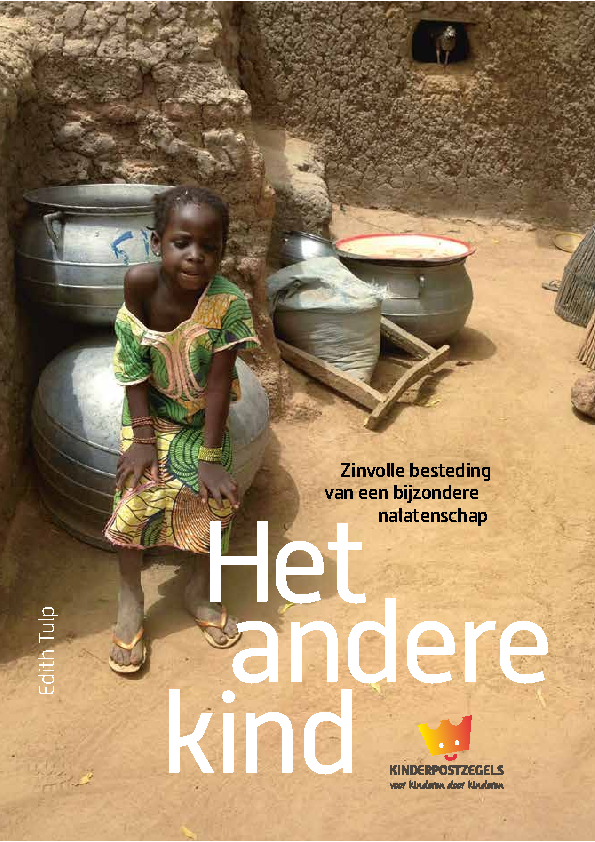 Kinderpostzegels. Boekje over de besteding van een bijzonder legaat in Afrika